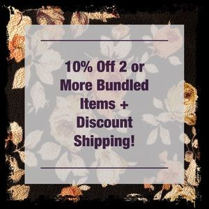 Other - 10% OFF TWO OR MORE BUNDLED ITEMS! Save Shipping